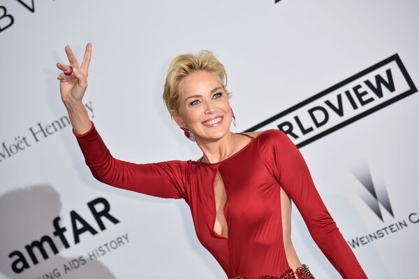 Aktorka Sharon Stone  - Sputnik Polska