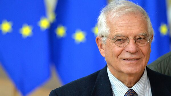 Wysoki przedstawiciel UE do spraw zagranicznych i polityki bezpieczeństwa Josep Borrell. - Sputnik Polska