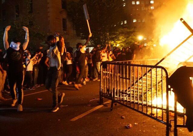 Protesty w USA