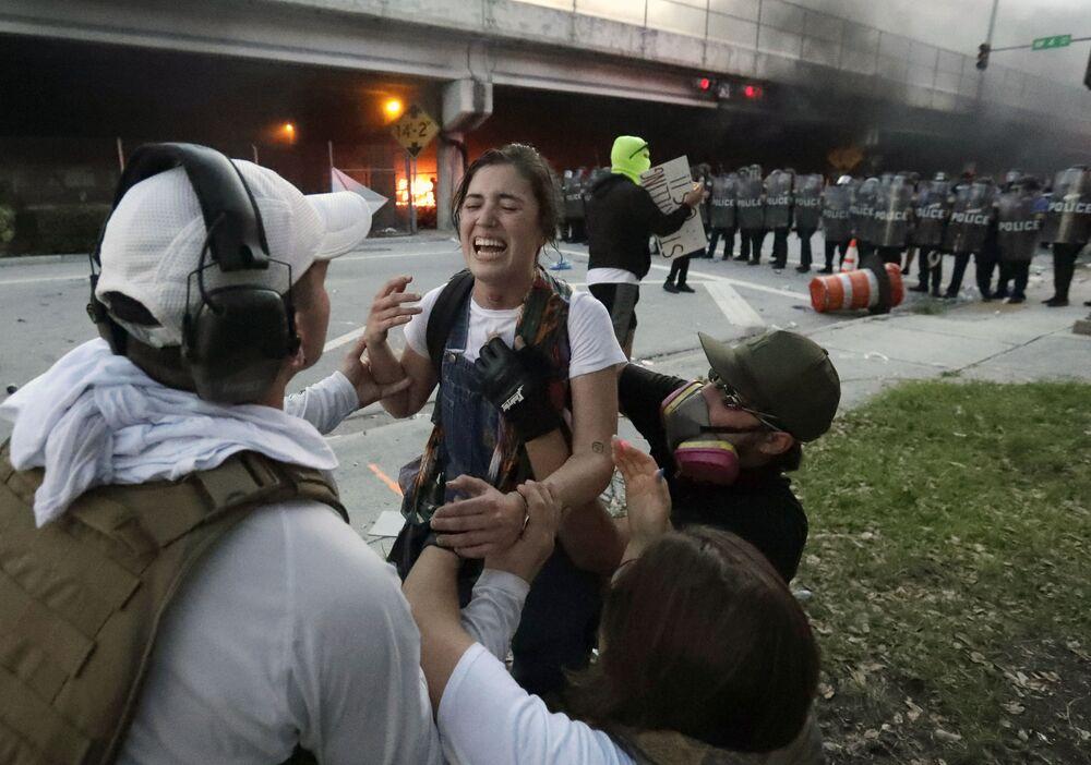 Protesty w Miami