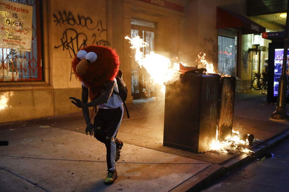 Protesty w Filadelfii