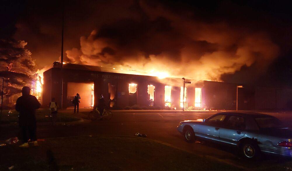 Podpalenia w Minneapolis