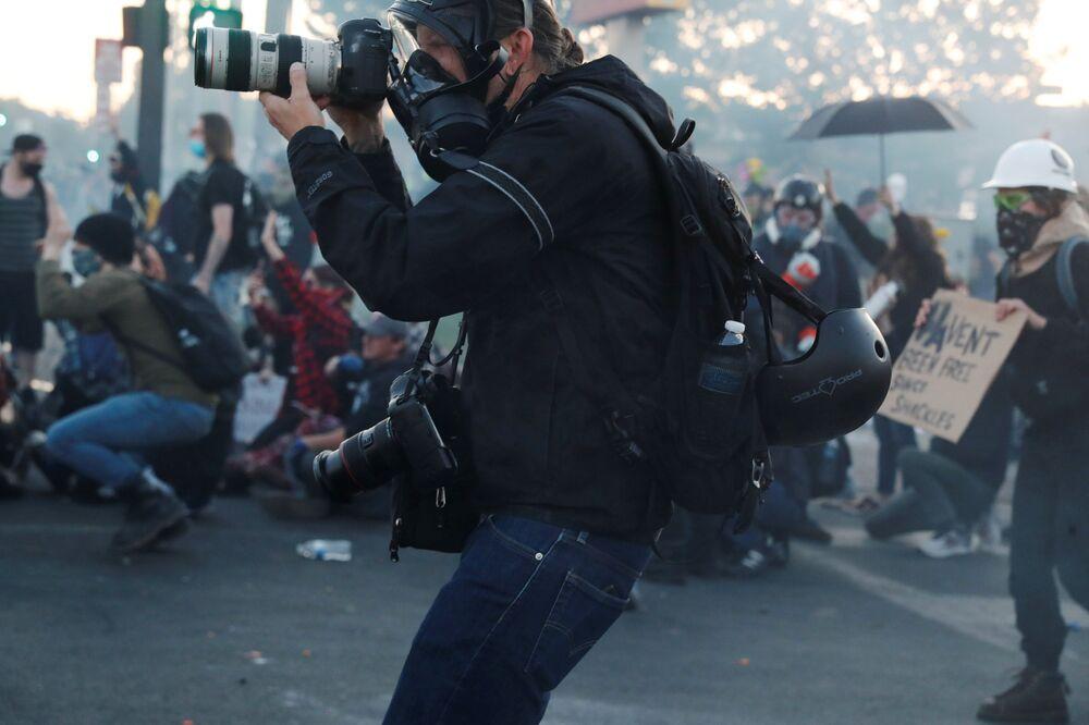 Fotograf New York Times w USA