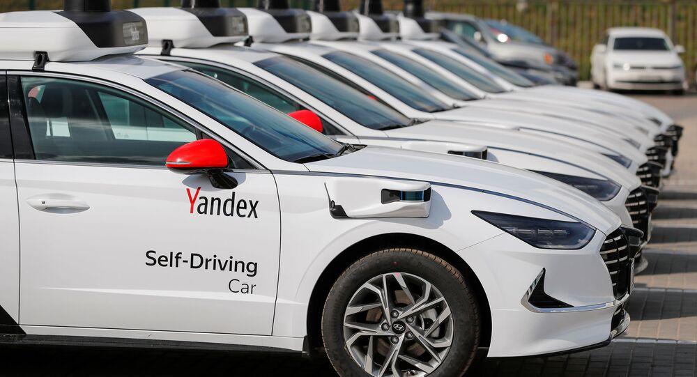 Bezzałogowe samochody Yandex