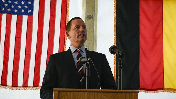 Ambasador USA w Niemczech Richard Grenell - Sputnik Polska