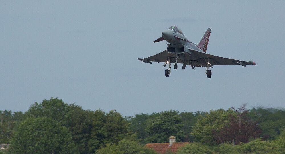 Myśliwiec Typhoon Sił Powietrznych Wielkiej Brytanii