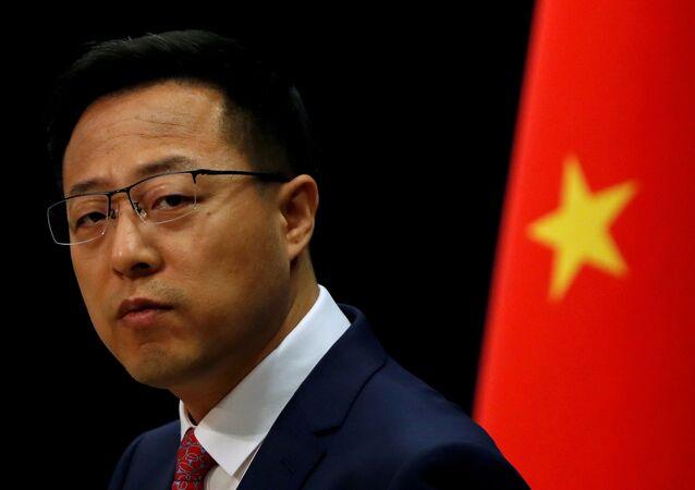Rzecznik MSZ Chin Zhao Lijian