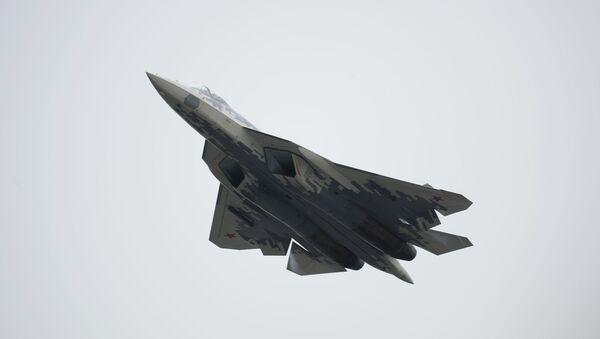 Rosyjski wielozadaniowy myśliwiec piątej generacji Su-57 - Sputnik Polska