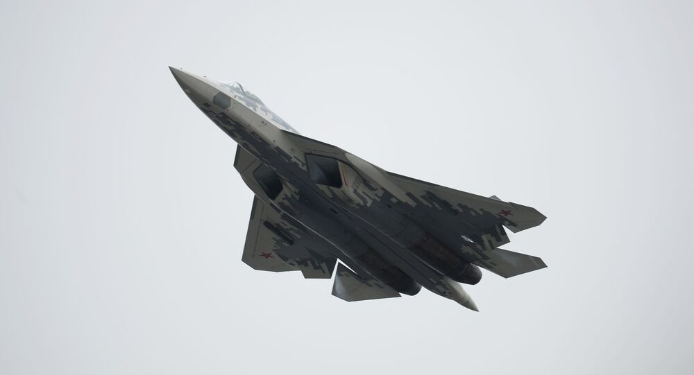 Rosyjski wielozadaniowy myśliwiec piątej generacji Su-57