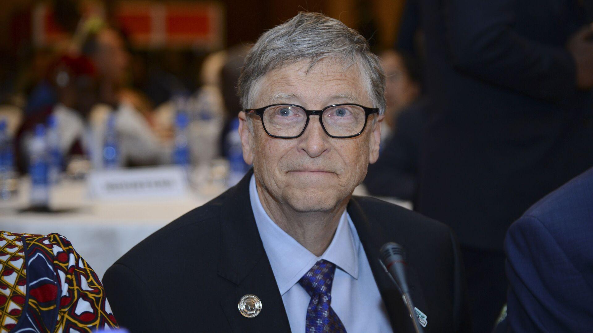 Amerykański przedsiębiorca Bill Gates - Sputnik Polska, 1920, 02.03.2021