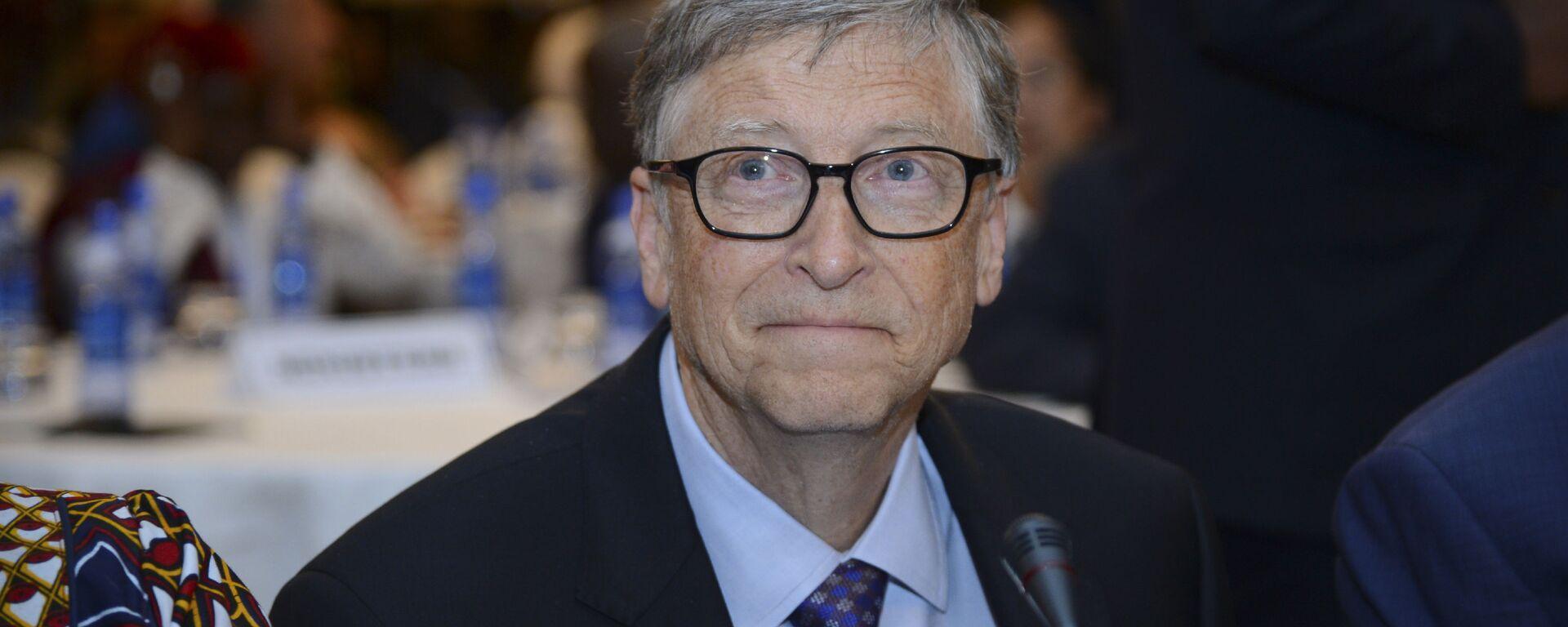 Amerykański przedsiębiorca Bill Gates - Sputnik Polska, 1920, 27.01.2021