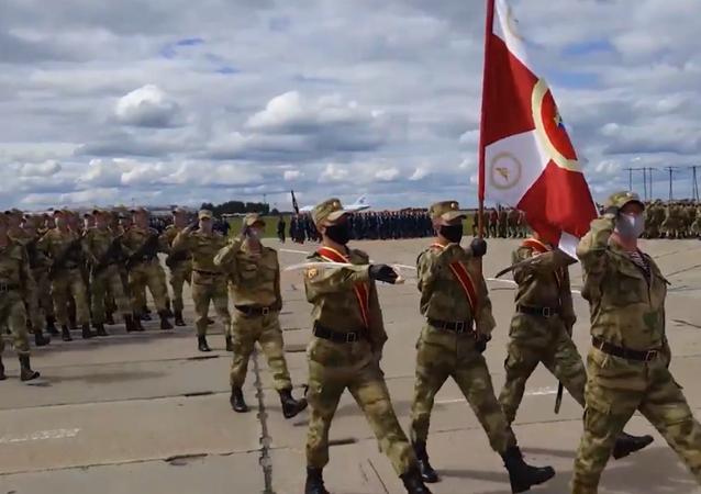 Pierwsza próba Parady Zwycięstwa odbyła się w Nowosybirsku