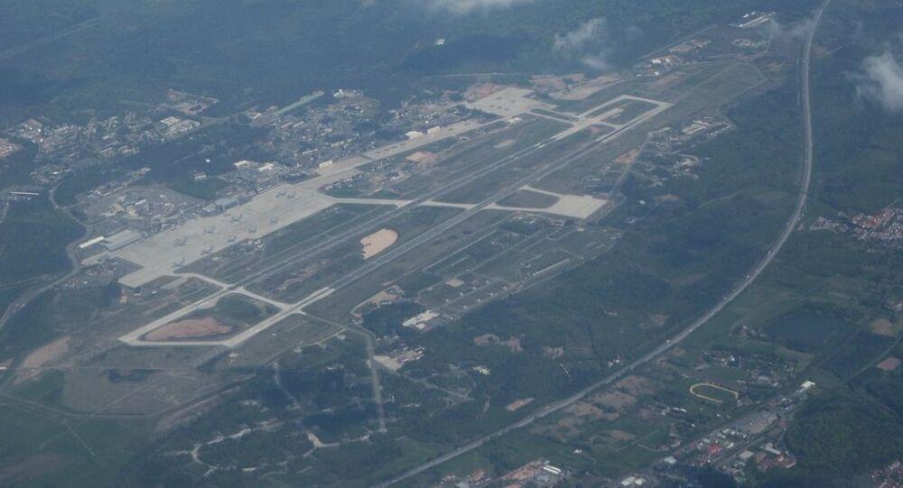 Amerykańska baza lotnicza Ramstein w Niemczech