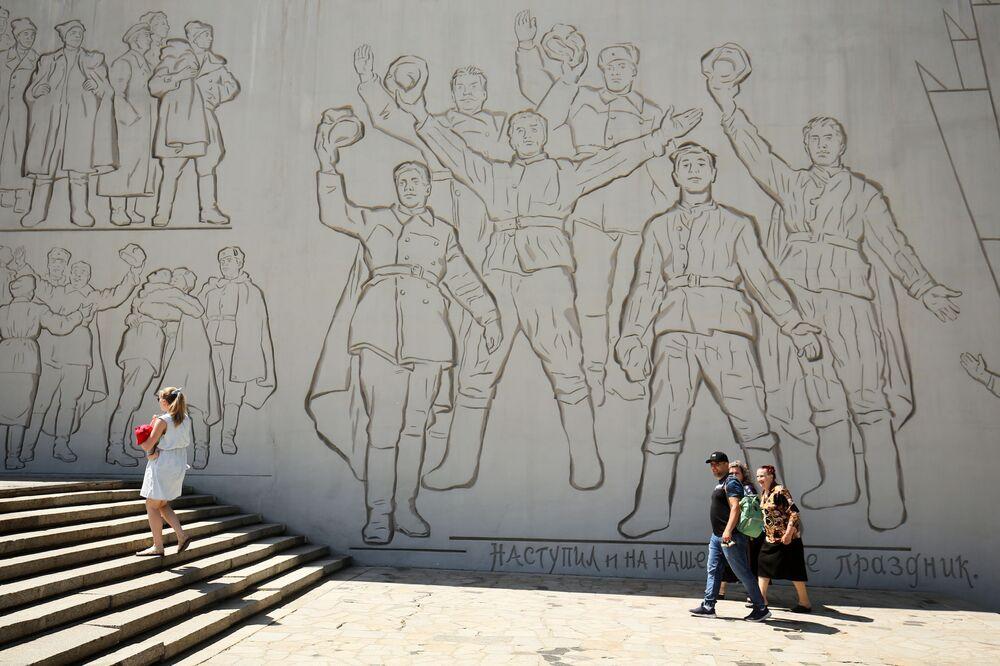 """Kompleks memorialny """"Bohaterom bitwy stalingradzkiej"""" w Wołgogradzie"""