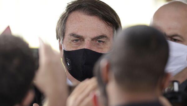 Prezydent Brazylii Jair Bolsonaro. - Sputnik Polska