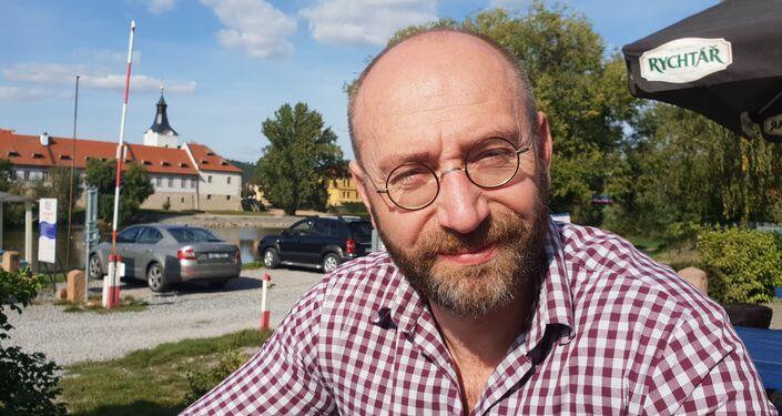 Czeski socjolog Petr Hampl