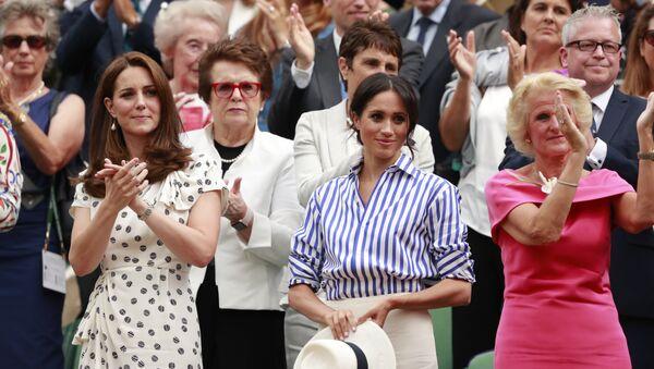 Kate Middleton i Meghan Markle  - Sputnik Polska