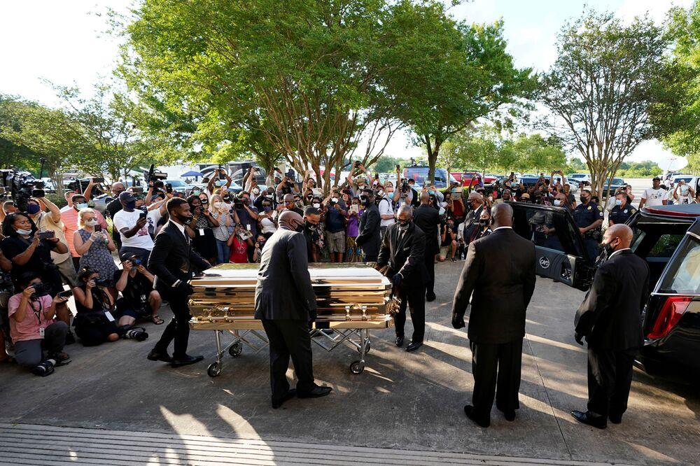 Dziś pogrzeb George'a Floyda w Houston, USA