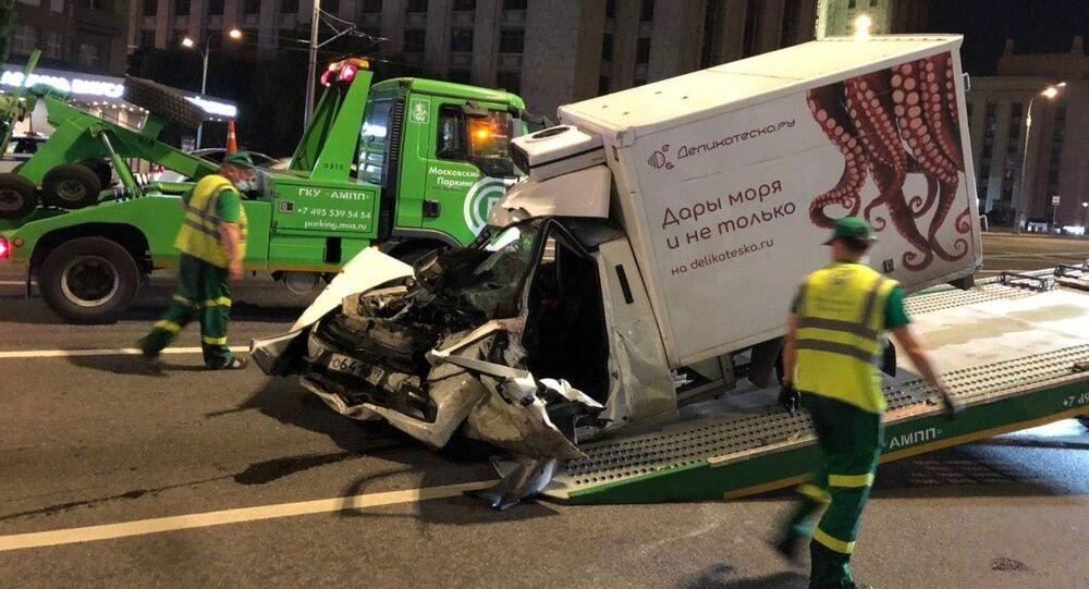 Tragiczny wypadek w Moskwie, 8 czerwca 2020 roku