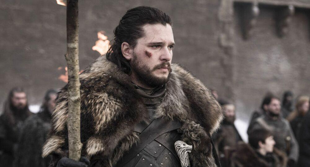 """Postać Jona Snowa z serii """"Gra o tron"""""""