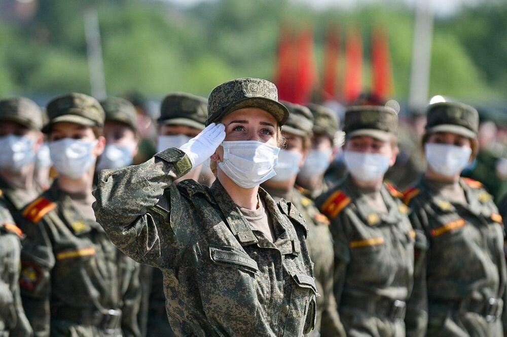 Próba Parady Zwycięstwa w podmoskiewskim Alabino