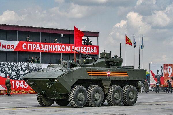 Próba Parady Zwycięstwa w podmoskiewskim Alabino  - Sputnik Polska