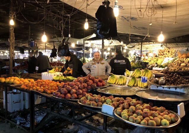 Rynek w Aleppo