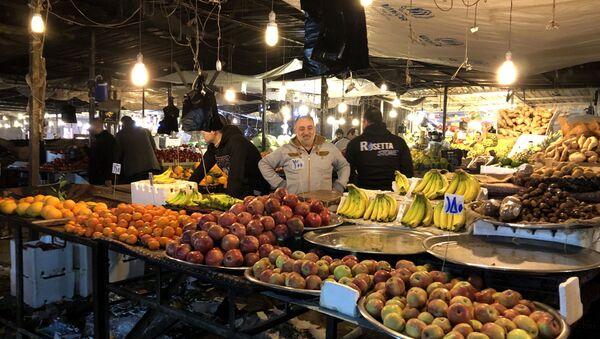 Rynek w Aleppo - Sputnik Polska