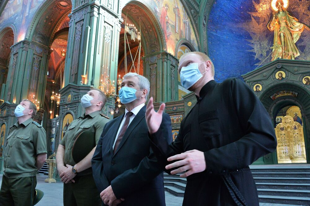 Ambasador Białorusi w FR Uładzimir Siamaszka