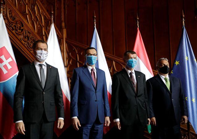 Spotkanie szefów rządów V4