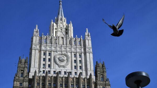 Budynek Ministerstwa Spraw Zagranicznych Rosji - Sputnik Polska
