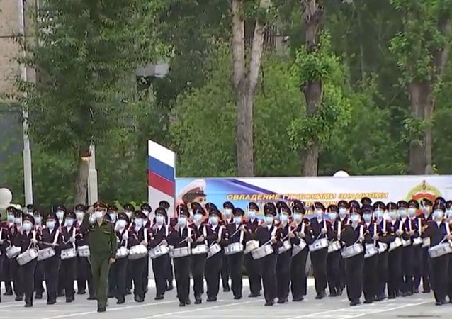 Próba Parady Zwycięstwa w Jekaterynburgu