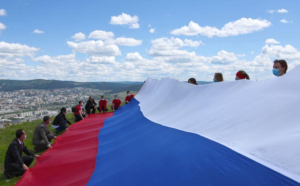 Obchody Dnia Rosji w Czicie