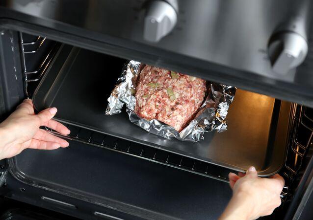 Mięso w folii aluminiowej