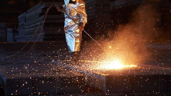 Fabryka metalurgiczna - Sputnik Polska