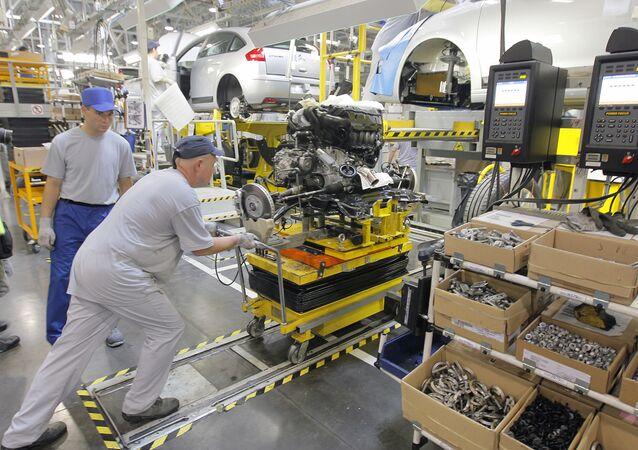 "Fabryka koncernu PSA ""Peugeot-Citroen"" w Kałudze"