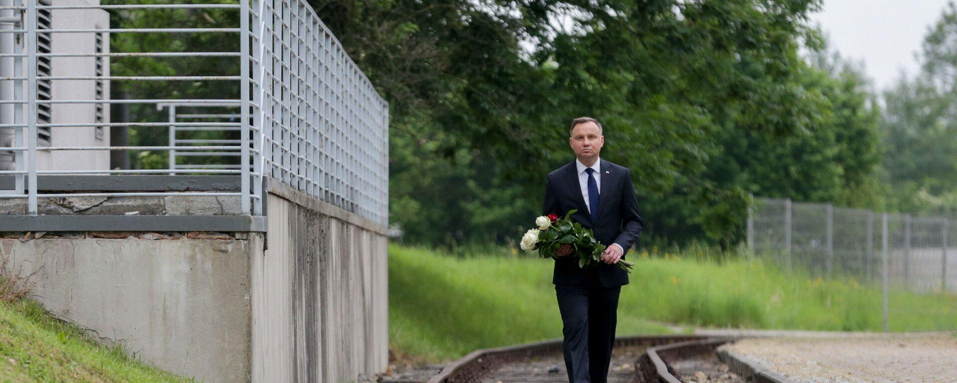 80. rocznica pierwszego transportu do Auschwitz - Sputnik Polska, 1920, 13.08.2021
