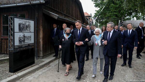 80. rocznica pierwszego transportu do Auschwitz - Sputnik Polska