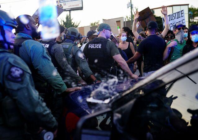 Protesty w Atlancie