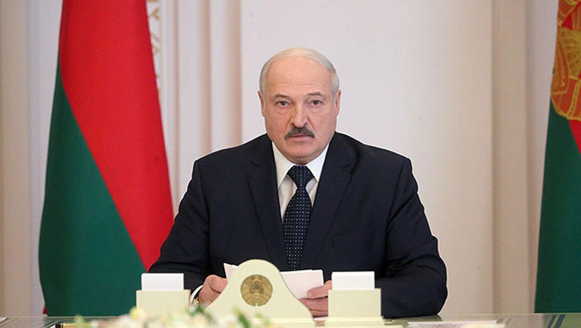 Prezydent Białorusi Alaksandr Łukaszenka - Sputnik Polska, 1920, 18.04.2021