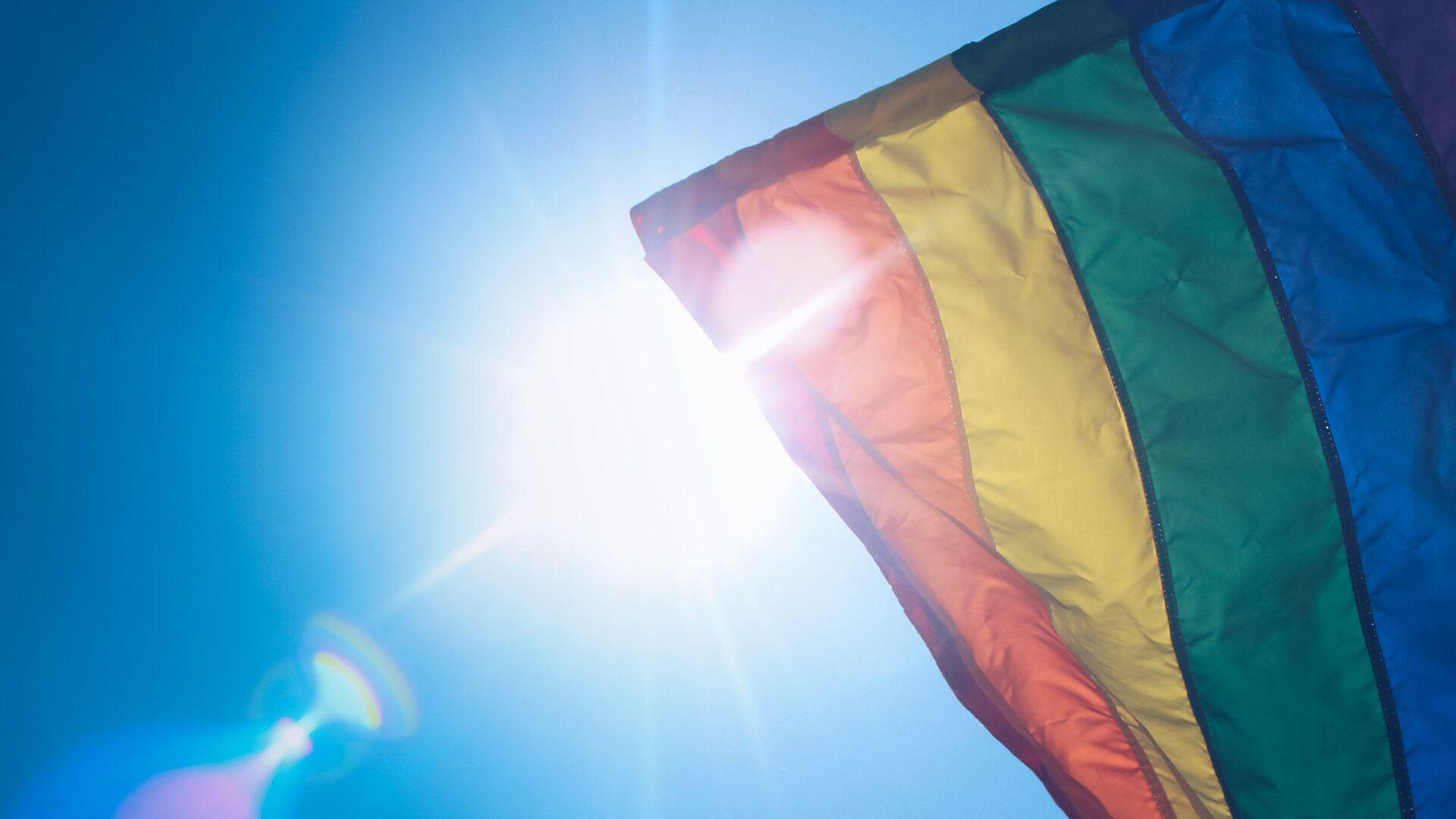 Flaga LGBT - Sputnik Polska, 1920, 02.06.2021