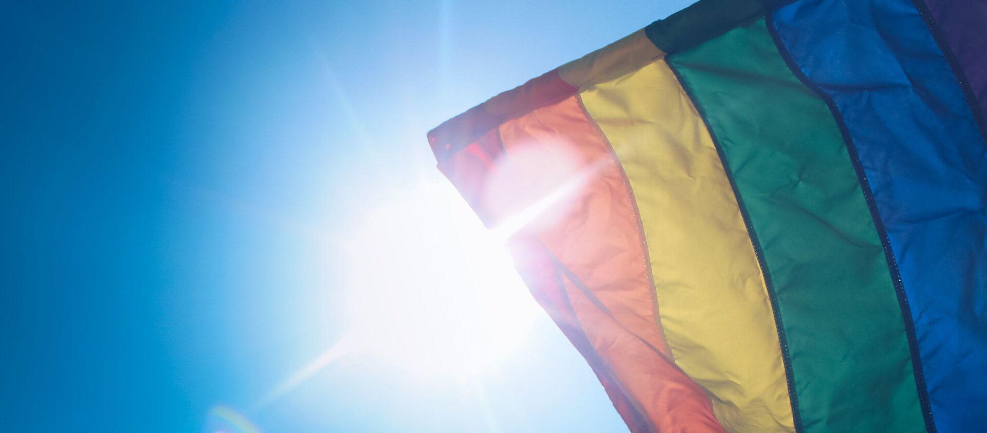 Flaga LGBT - Sputnik Polska, 1920, 17.05.2021