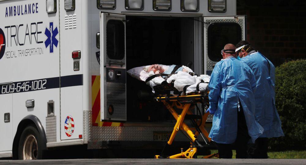 Lekarze pogotowia ratunkowego w Hammonton, New Jersey, USA
