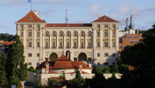 Pałac Czerniński na Placu Hradczańskim, w którym mieści się Ministerstwo Spraw Zagranicznych Republiki Czeskiej - Sputnik Polska