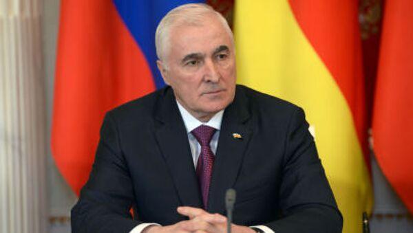Prezydent Republiki Osetii Południowej Leonid Tibiłow - Sputnik Polska