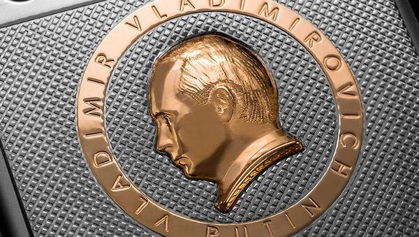 iPhone 6S na cześć urodzin prezydenta Rosji Władimira Putina - Sputnik Polska