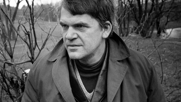 Czeski pisarz Milan Kundera - Sputnik Polska