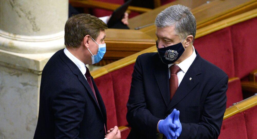 Były prezydent Ukrainy, deputowany do Rady Najwyższej Petro Poroszenko