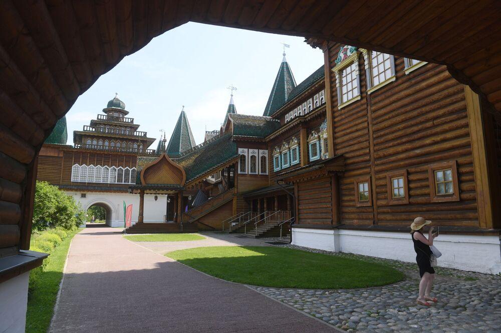 """Muzeum w parku """"Kołomienskoje"""""""