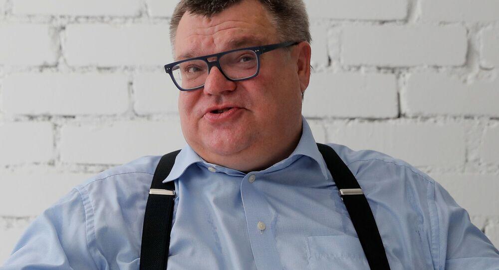 Były szef Belgazprombanku Wiktar Babaryka